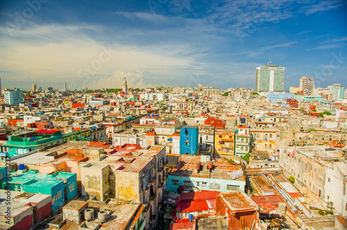 Foto op Plexiglas Havana Panorama of Havana city Vedado District