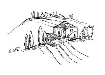 NaklejkaSummer landscape.