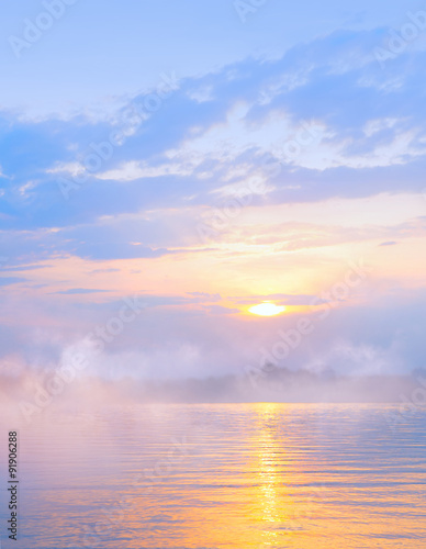 Foto  abstract light sea summer background