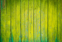 Green Wooden Plank Texture As ...