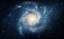 Galaxy. Elements Of This Image Furnished By NASA.