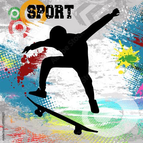 plakat-skater