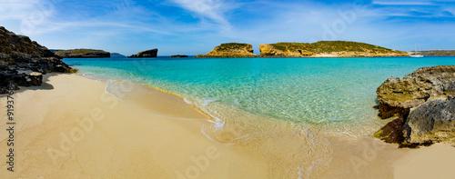 The Blue Lagoon on Comino Island, Malta Gozo