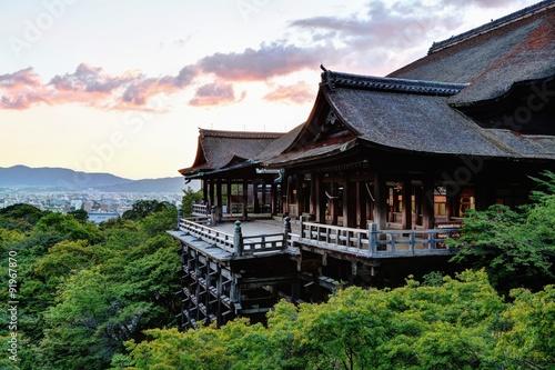 Foto op Canvas Kyoto 京都 清水寺のイメージ