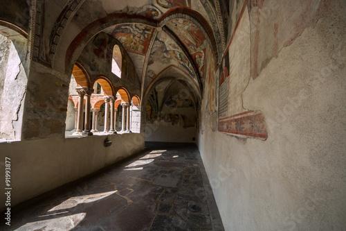 Fotografiet  Antico chiostro, Alter Kreuzgang, Bressanone, Brixen, Bolzano, Trentino Alto Adi