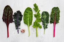 Spectrum Of Healthy Green Vege...