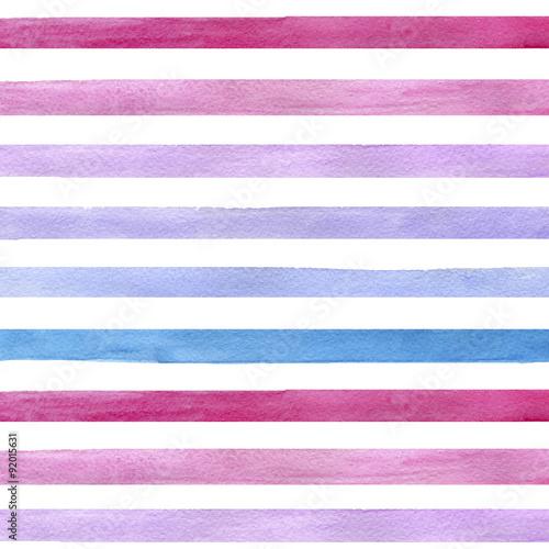 kolorowe-recznie-rysowane-prawdziwe-akwarela-bezszwowe-wzor-z-poziome-niebieskie-rozowe-i-fioletowe-paski-streszczenie-grunge-szwu-paski-na-bialym-b