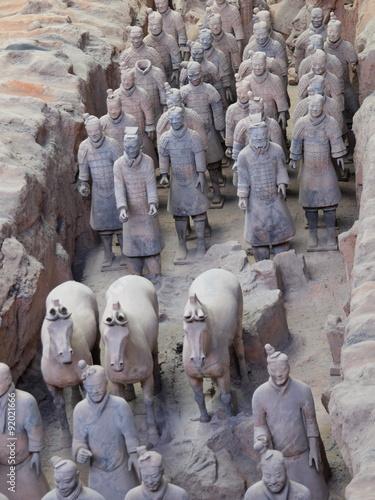 Foto op Plexiglas Xian Terrakotta Armee in X'ian