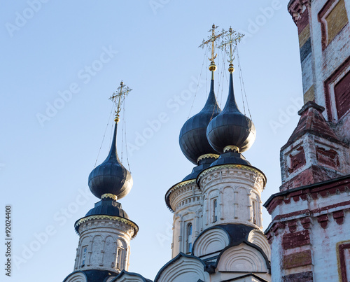 Antipius Orthodox church in city of Suzdal Russia Canvas Print