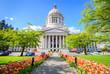 canvas print picture - Washington State Capitol Building