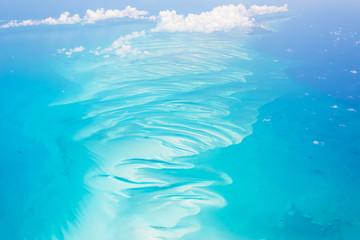Fototapeta na wymiar Aerial view of the Bahamas