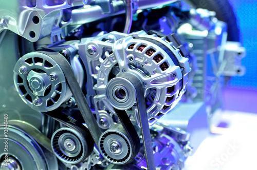 fototapeta na lodówkę Car transmission.