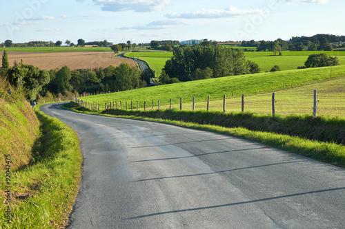 Route en campagne - France