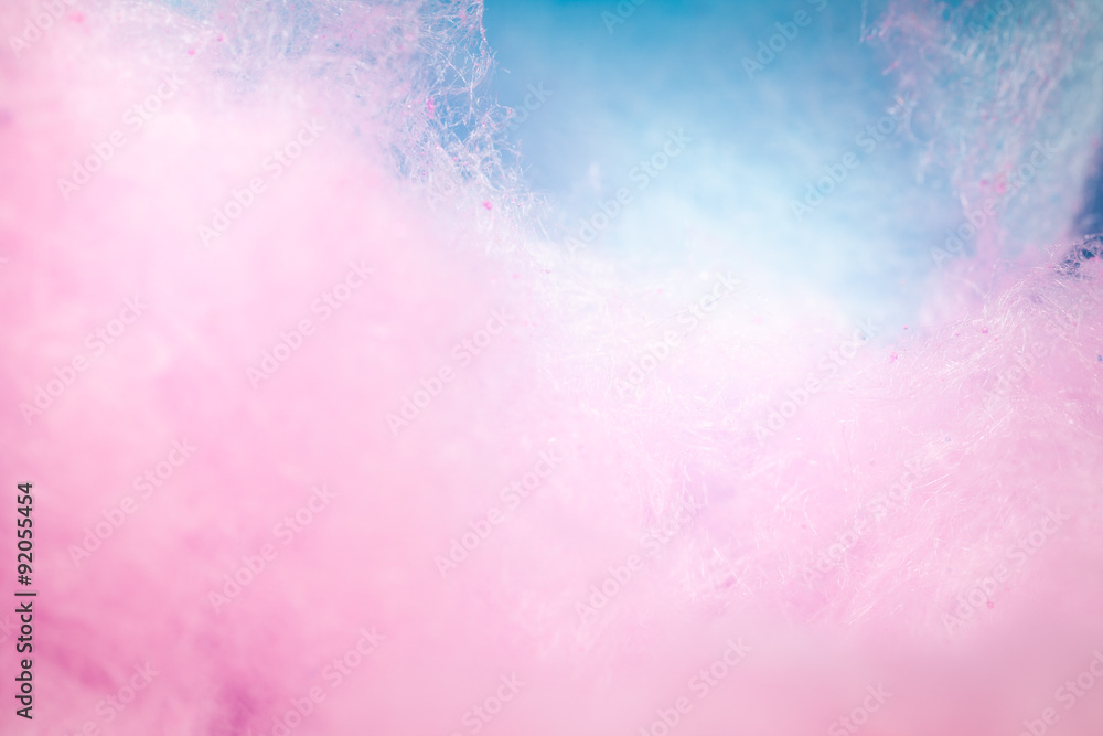 Fototapety, obrazy: colorful cotton candy in soft color for background