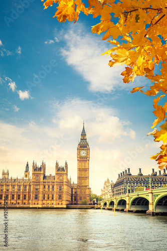 Big Ben in London Canvas
