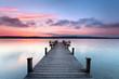Herbstmorgen am einsamen See