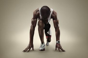 Sports. Starting runner.