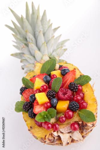Foto op Aluminium Vruchten fruit salad