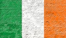 Ireland - National Flag On Bri...