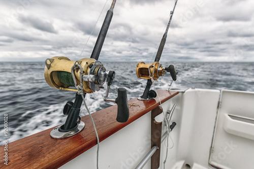Printed kitchen splashbacks Fishing Fishing rods