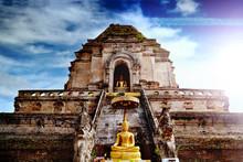 Templo De Wat Chedi Luang, Chi...