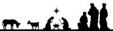 Weihnachten Mit Krippe Und Heiligen 3 Königen
