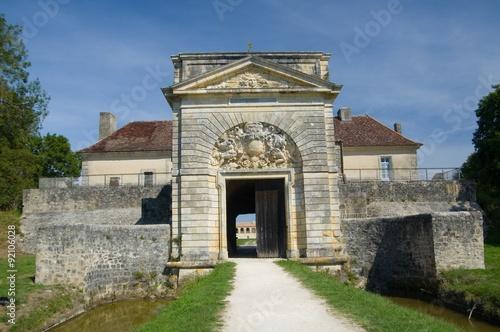 Papiers peints Fortification FORT MEDOC, FRANCE - SEPTEMBER 9, 2015: Fort Medoc (built by Vauban), Gironde, Aquitane, France on September 9, 2015