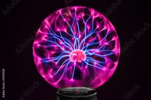 Fotografía  Plasma globe 3