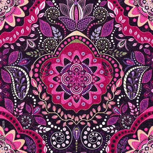 etniczne-kwiatowy-wzor