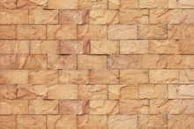 Sand Stone Brick Wall