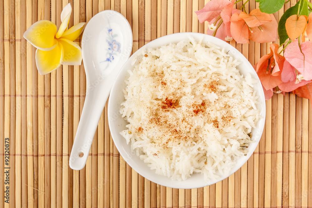 Fototapety, obrazy: bol de riz parfumé