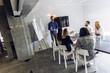 canvas print picture - Office presentation