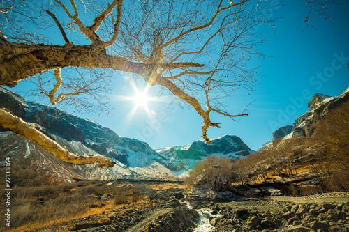 Fotografie, Obraz  Wide Angle shoot at Changbai Mountain