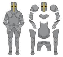 Knight Armor. Color