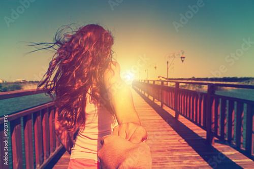 Obraz na dibondzie (fotoboard) dziewczyna