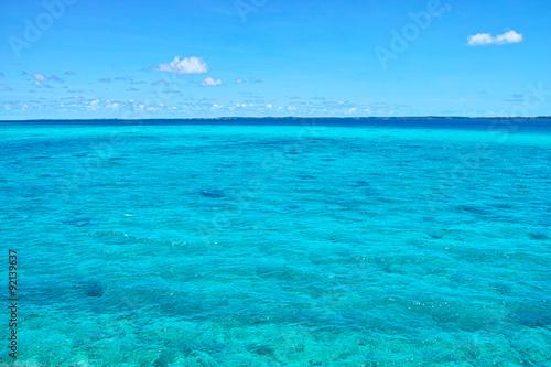In de dag Zee / Oceaan コバルトグリーンの海