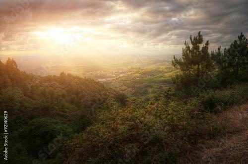 Foto auf Leinwand Nordeuropa Countryside Landscape