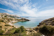 Beautiful wild beach in island Krk.