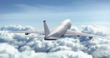 Aeroplano Vola Nuvole Cielo