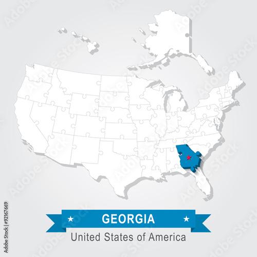 Georgia state. USA administrative map. - Buy this stock ... on iowa map usa, michigan map usa, yale map usa, evansville map usa, akron map usa, houston map usa, indiana map usa, oklahoma map usa, connecticut map usa, alabama map usa, columbia map usa, wisconsin map usa, minnesota map usa, mississippi map usa, colorado map usa, missouri map usa, kentucky map usa, california map usa, nebraska map usa, tulsa map usa,