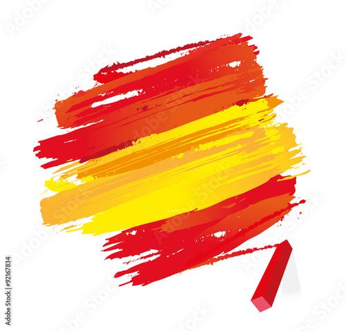 Foto  drapeau espagnol
