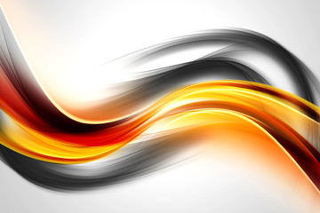 Panel Szklany Dym Abstract Energy Waves Design Background