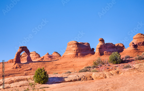 Leinwand Poster Delicate arch, Arches National Park, USA