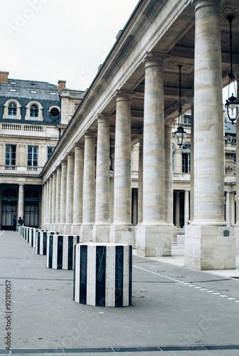 Fotografia, Obraz  column in the royal palace
