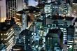 東京・池袋方面から望む大都会の夜景