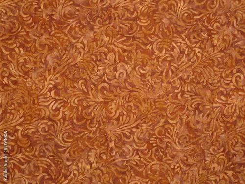 Indonesian batik texture Canvas Print