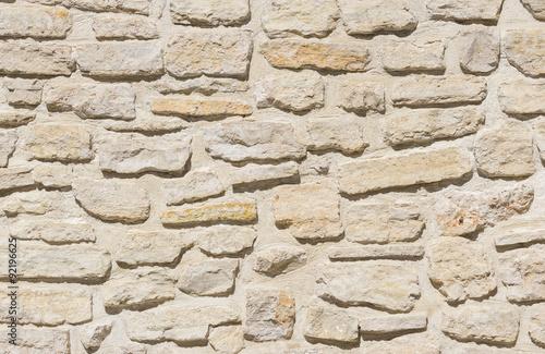 In de dag Stenen Alte graue Stein Mauer rustikal