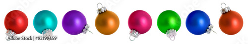 Photo  Christmas: Christmas Ornaments In All Colors