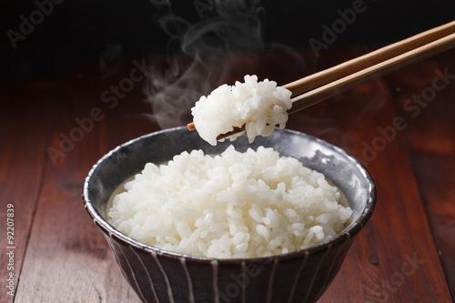 Foto 白米のご飯 Japanese rice KOME