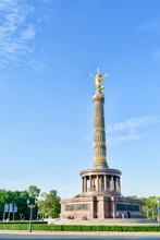 Victory Column In Berlin. The ...